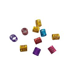Anel Ajustável Color com 10 unidades - Lili Hair