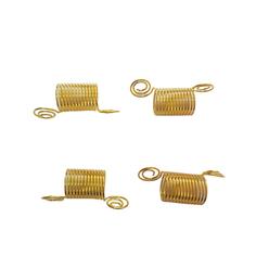 Anel Mola Dourado com 4 unidades - Lili Hair