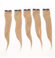 Aplique  Tic-Tac Cabelo Remy Velcro 50 cm - Lili Hair