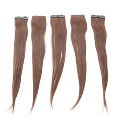 Aplique  Tic-Tac Cabelo Remy Velcro 60 cm - Lili Hair