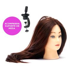 Cabeça de Treino 80% - Lili Hair