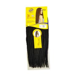 Cabelo Mini Afro Braid Twist Senegalese Crochet Braid Ser Mulher  - Ser Mulher Fibras