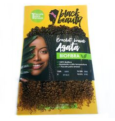 Cabelo Orgânico Black Beauty Agata Crochet Braid - Lili Hair