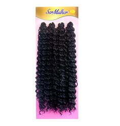 Cabelo Orgânico Ser Mulher Ritmo Crochet Braid - Lili Hair