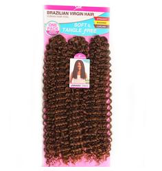 Cabelo Orgânico Sleek Jainara Crochet Braid Brazilian Virgin Hair  - SleeK