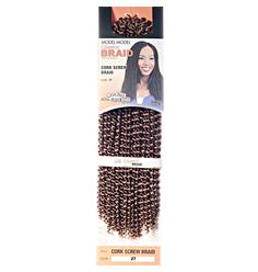 Cabelo Sintético Cork Screw Braid - Lili Hair