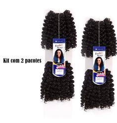 Cabelo Sintético FreeTress Bohemian Curl Kit 2 pacotes - Lili Hair