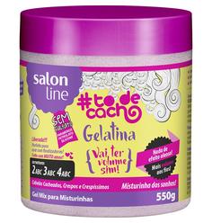 Gelatina Gel Mix 550g Salon Line - Salon Line