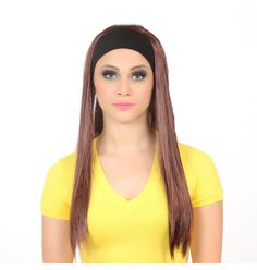 Peruca Faixa Lisa - Lili Hair