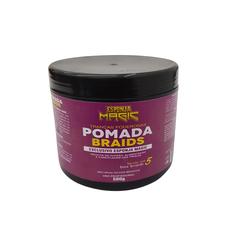 Pomada Braids 500 gramas esponja magic - Lili Hair
