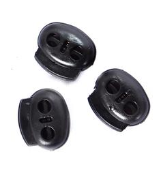 Regulador de Plástico Preto com 3 unidades - Lili Hair