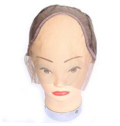 Touca para confecção Full Lace Marrom - Lili Hair