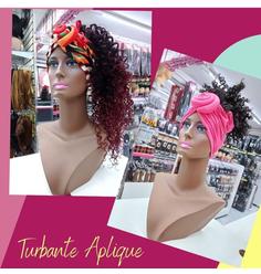 Turbante aplique - Magic Wig (sob encomenda 11 97555-7775) - Lili Hair